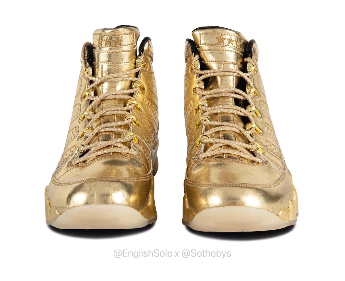 Usher Air Jordan 9 Sothebys English Sole