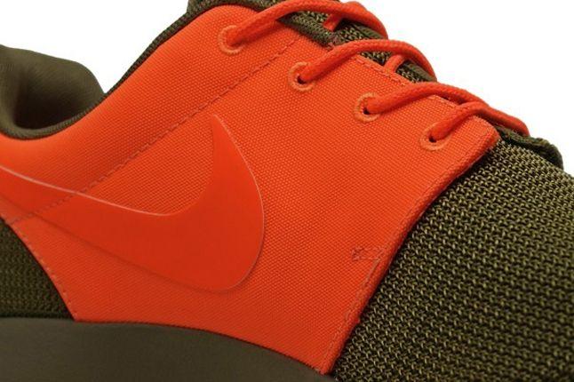 Nike Roshe Run 2Face Orange Swoosh 1