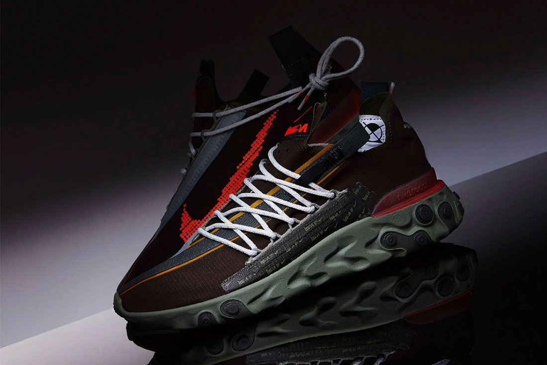 Nike Ispa React Wr Red Left