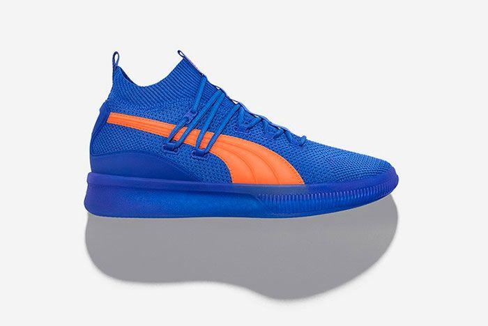 Puma Clyde Court City Pack Blue Orange