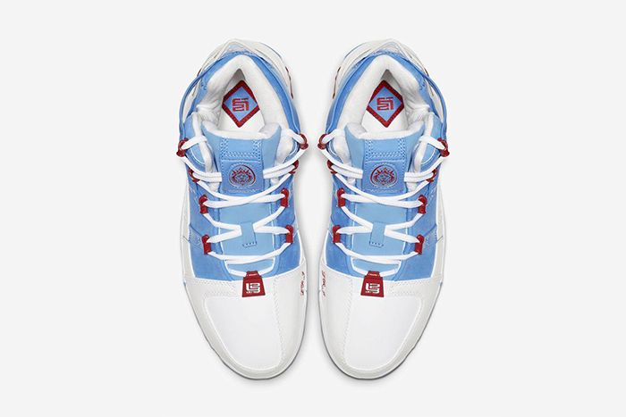 Nike Lebron 3 Houston Oilers 2019 Retro Ao2434 400 Release Date Top Down