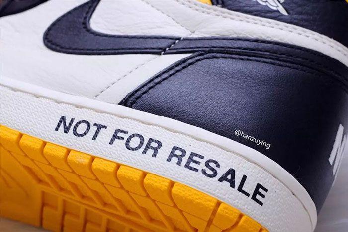 Air Jordan 1 Nrg No Ls Varsity Maize 861428 107 Release Date 4 Sneaker Freaker