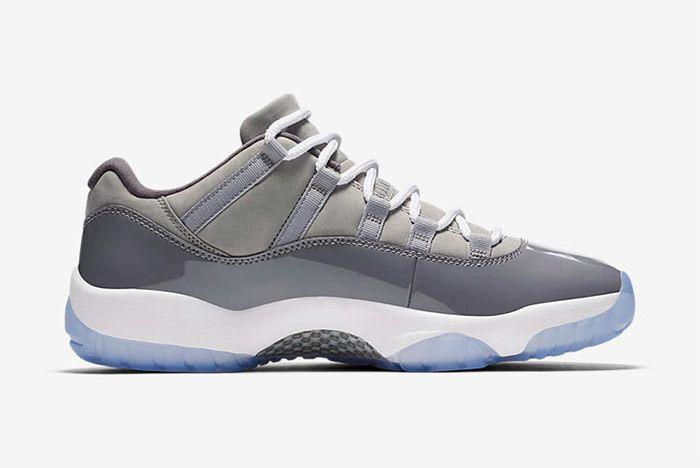 Air Jordan 11 Cool Grey Low 5