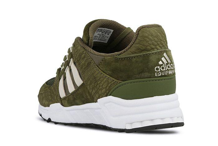 Adidas Equipment Support 93 Eqt Cargo Khaki Green 2