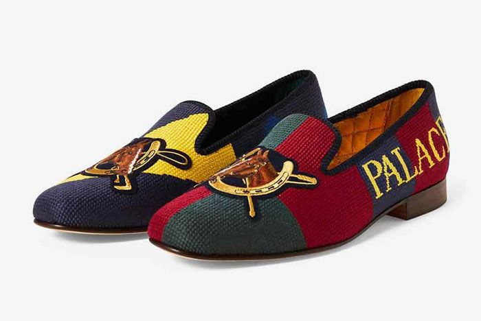 Polo Palace Slippers Multi Front Side