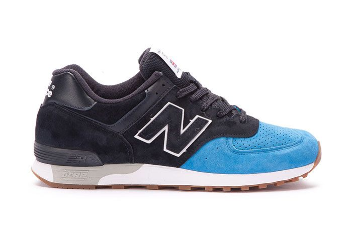 New Balance 576 Made In England Black Blue 1