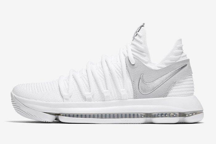 Nike Zoom Kd 10 Pure Platinum 5