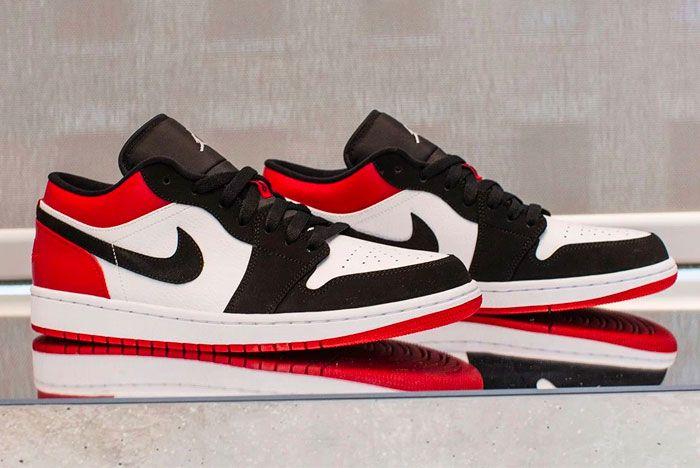 Air Jordan 1 Black Toe Low