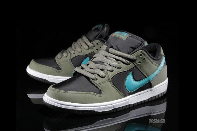 Nike Sb Dunk Low Olive Turbo Green 5