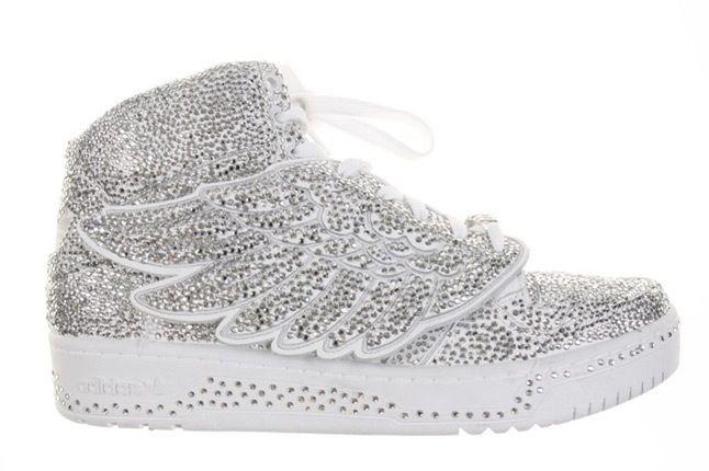 Adidas Jeremy Scott Swarovsky 3 1