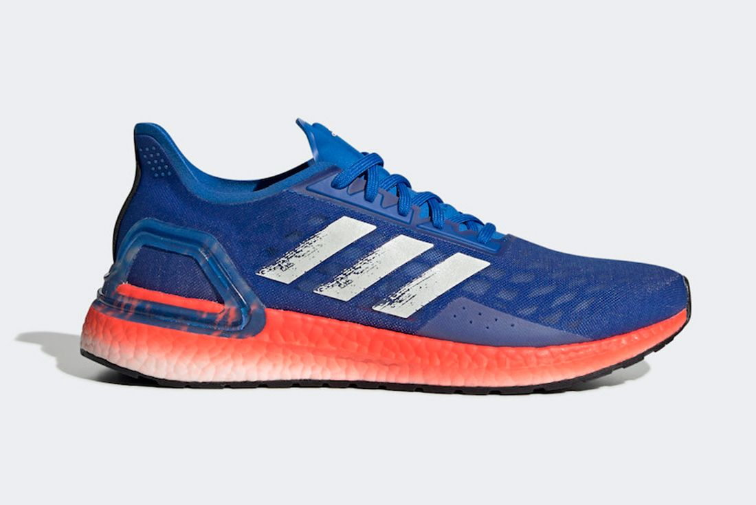 Adidas Ultra Boost Pb Glory Blue Solar Red Ef0893 Release Date Info 2 Side