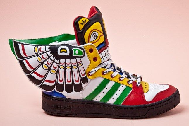 Adidas Originals Js Wings Totem Pole Side 1