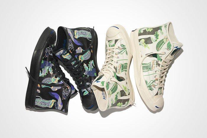 Converse Jack Purcell Signature High Carnivorous Print Pack Thumb