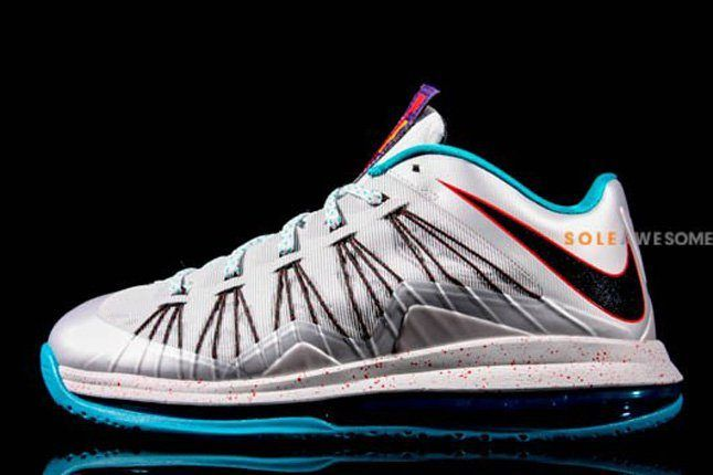 Nike Lebron X Low Hornets Profile 1