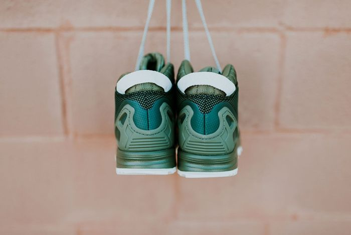 Adidas Zx Flux 58 Tr Green 3