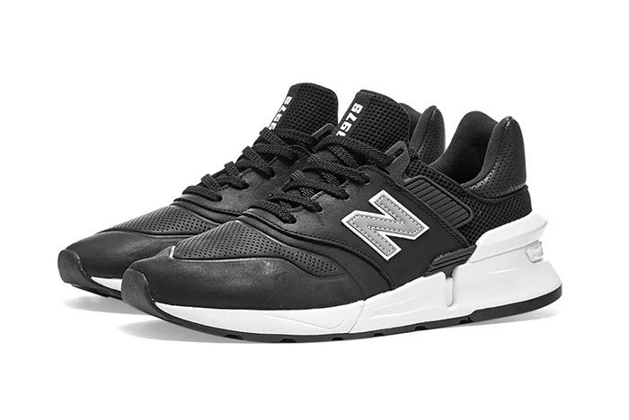 Commes Des Garcon New Balance Ms997 Black Side2