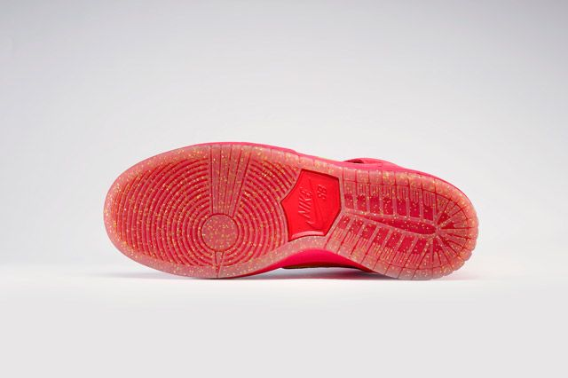 Nike Dunk High Premium Sb Red Sole