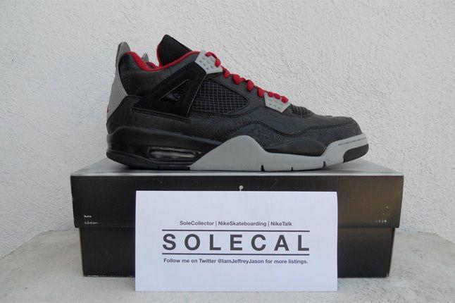 Air Jordan Iv Laser 2