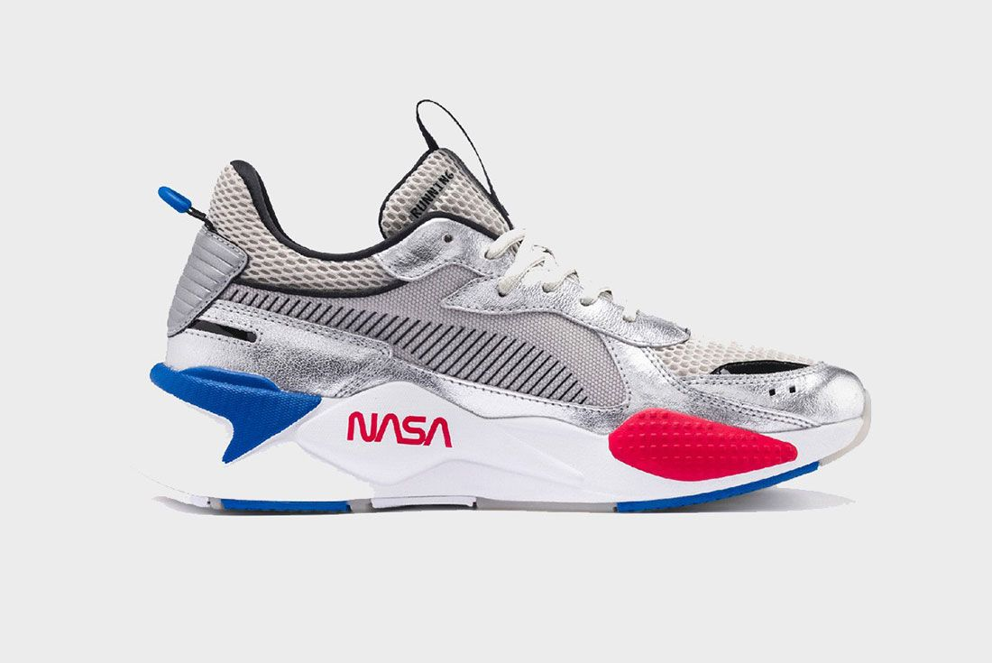 Nasa Puma Space Explorer Pack Rs X Silver Lateral Side Shot