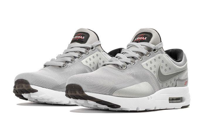 Nike Air Max Zero Matallic Silver 4