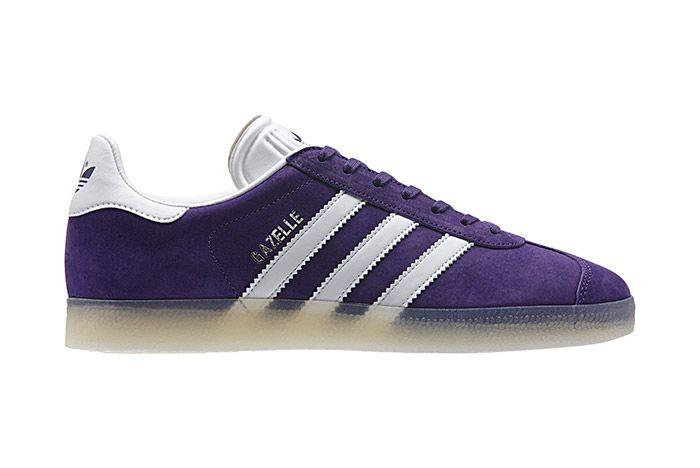 Adidas Gazelle Leather Iced Pack Unity Purple 2