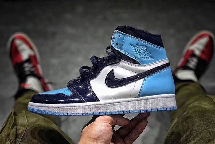 Jordan 1 Unc Leather Sneaker Freaker