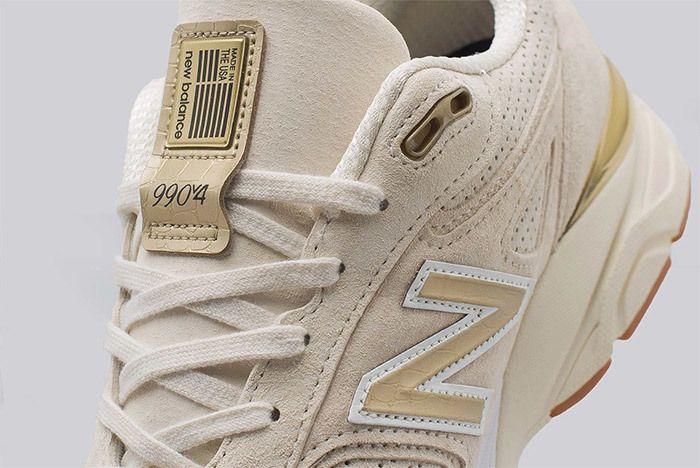 New Balance 990 V4 Off White 5