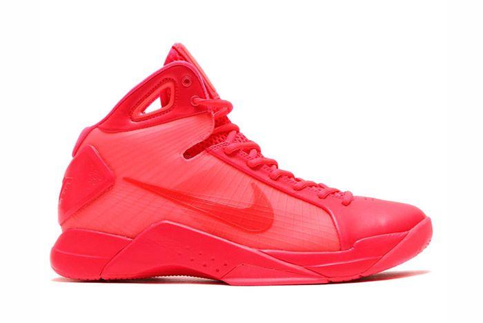 Nike Hyperdunk 2008 Retro Neon Pack Solar Red 5