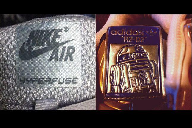 Adidas R2D2 Nike Hyperfuse 1
