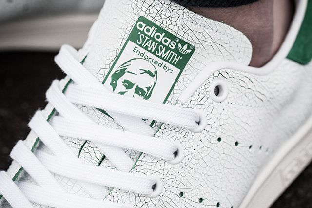 Adidas Stan Smith Cracked Leather Bump 3
