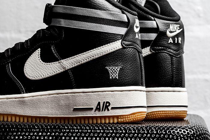 Nike Af1 High 07 Black 2
