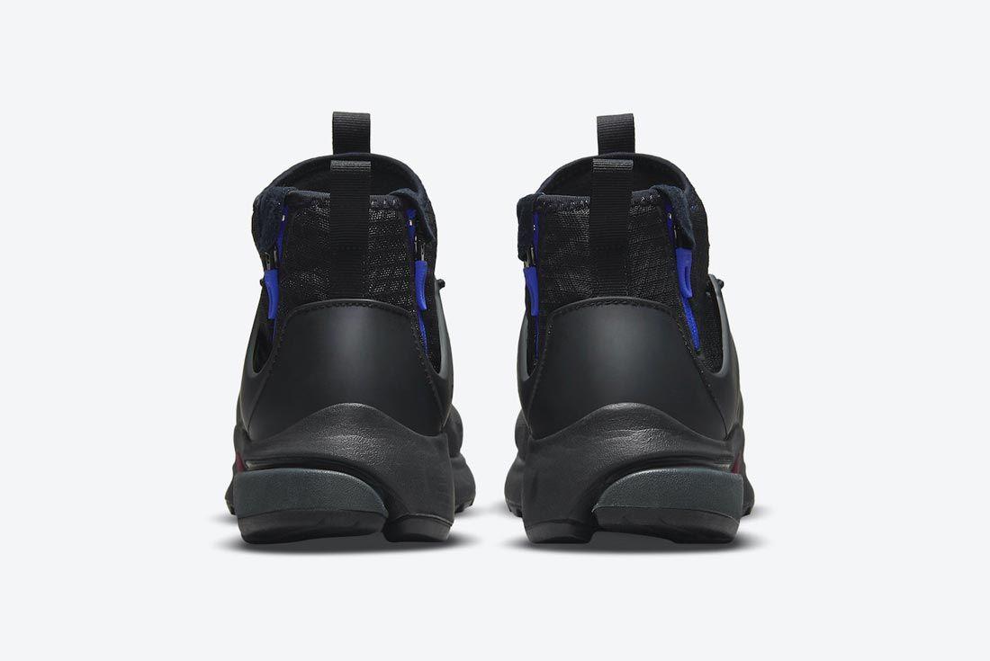 Nike Air Presto Mid Utility 'Darth Vader'