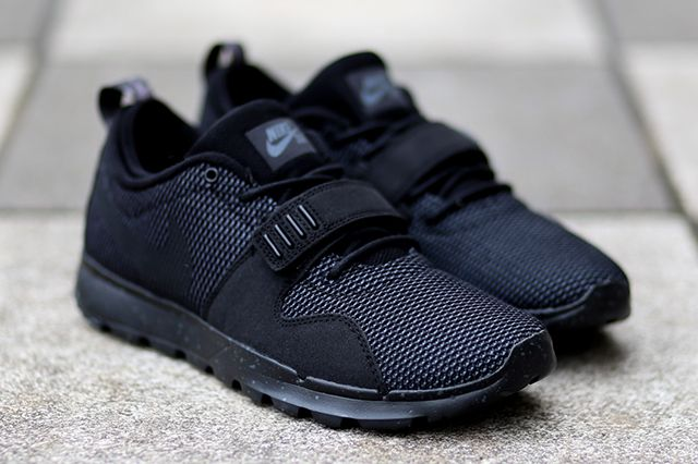 Nike Sb Trainerendor  Black Dark Grey 2