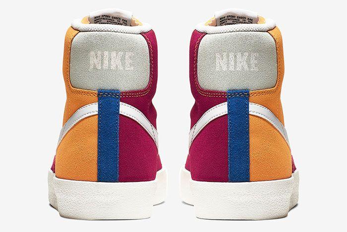 Nike Blazer Vintage Ci1167 600 Heel Shot