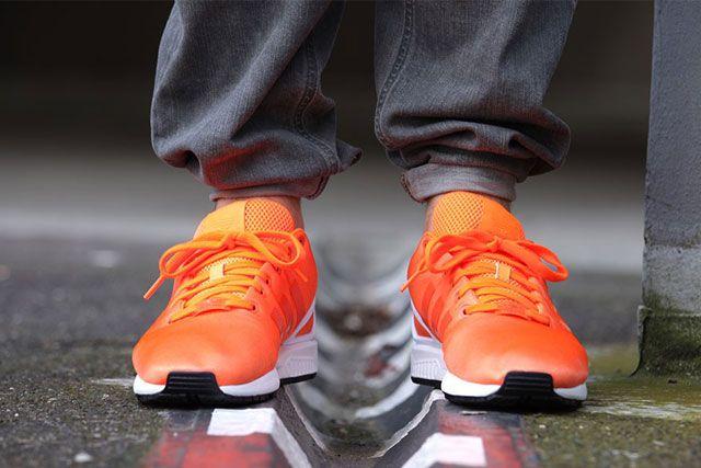 Adidas Zx Flux Solar Orange 3