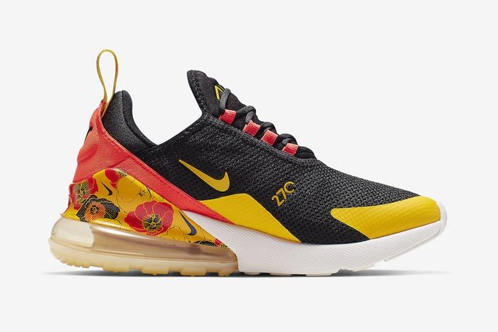 Nike Air Max 270 Womens Flower Medial