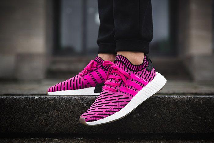 Adidas Nmd R2 Shock Pink 1