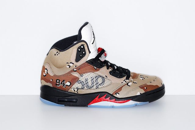 Supreme X Jordan 5 4