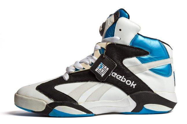 Shaq Reebok Shoe Size 20 Side 1