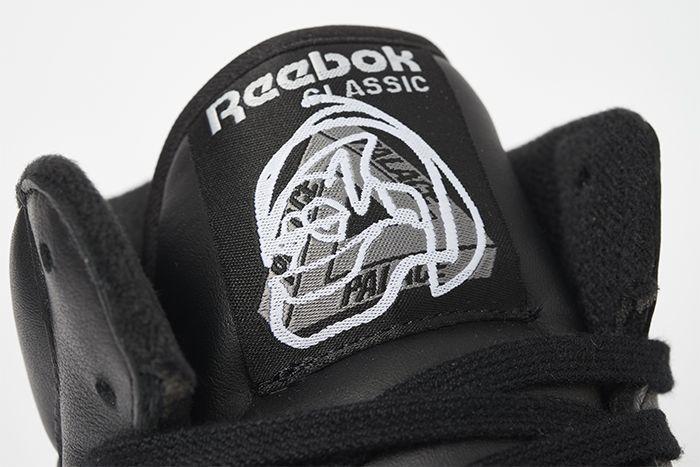 Palace Reebok Jk Workout Mid Black Release Date Tongue