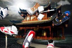 Thumb Sneaker Strike 1