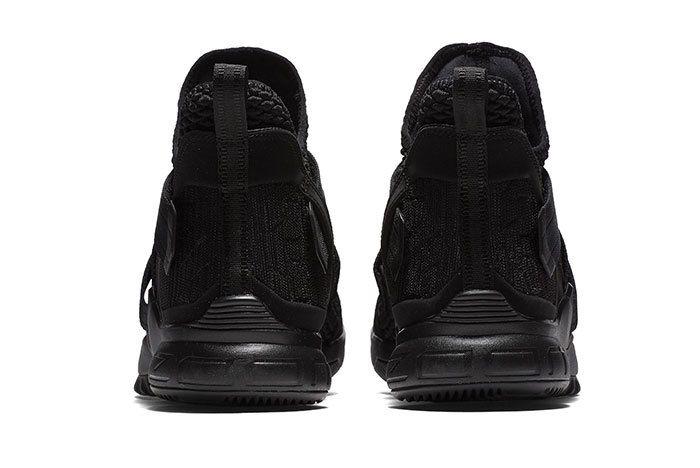 Nike Lebron Soldier 12 Sfg Triple Black 3