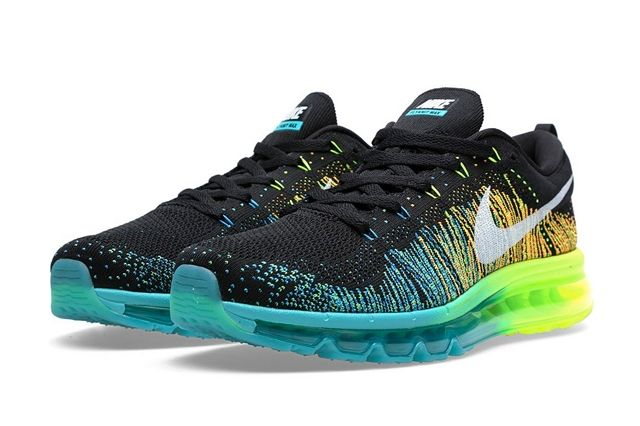Nike Flyknit Max Turbo Green 7