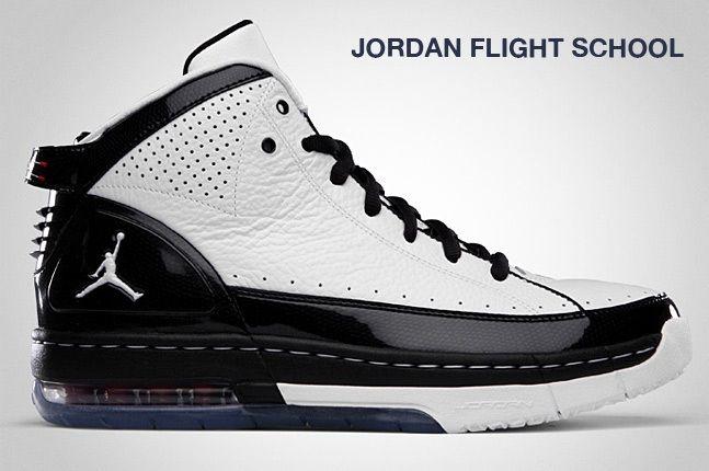 Jordan Flight School White 1
