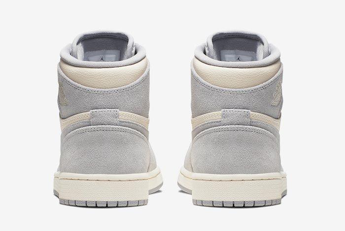 Air Jordan 1 Pale Ivory Heels