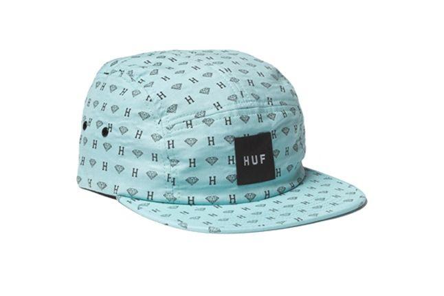 Huf Diamond Collection All Over 5Panel 1