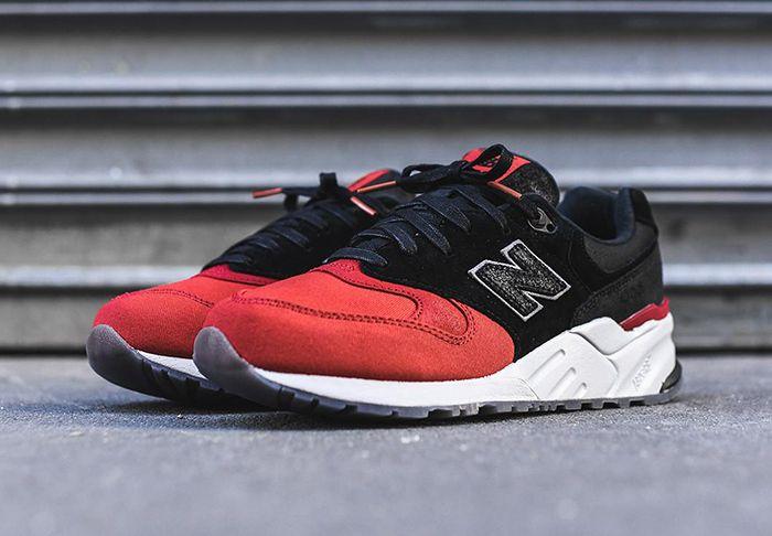 New Balance 999 Black Red Toe 5
