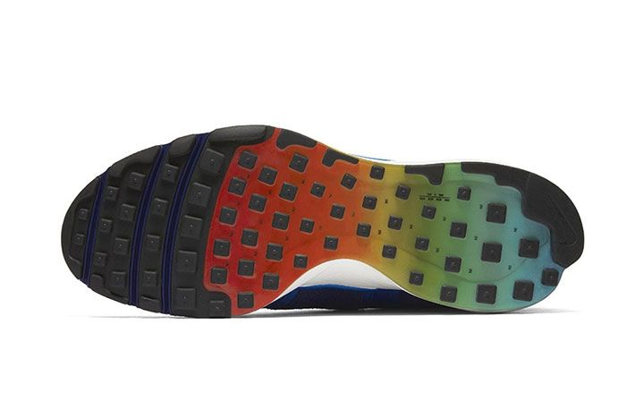 Nike Air Zoom Talaria Rainbow Blue 2