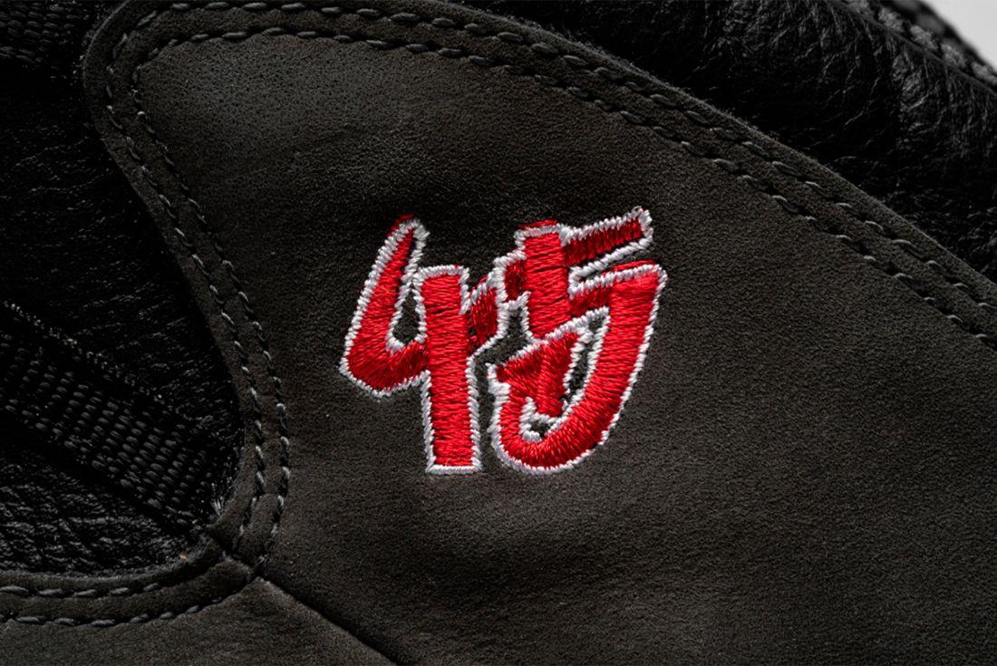 Air Jordan 10 'Shadow' Player Exclusive Number