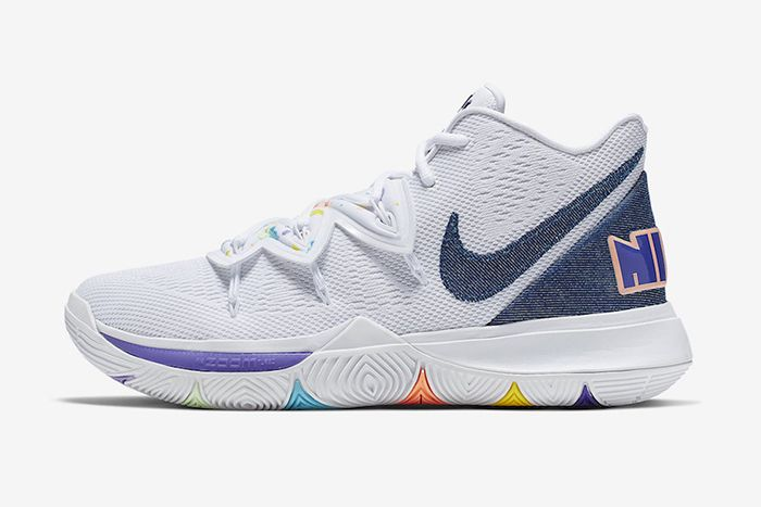 Nike Kyrie 5 Have A Nike Day Ao2919 101 Release Date Lateral